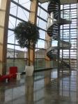 Lobby in The Gibson Hotel Dublin