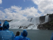 Maid of the Mist action shot