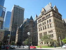 Eclectic architecture in Toronto