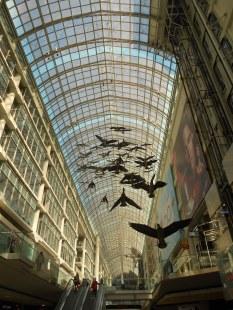 Eaton Centre mega shopping complex