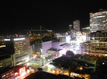 Blurry Toronto at night (view from the Eaton Chelsea)