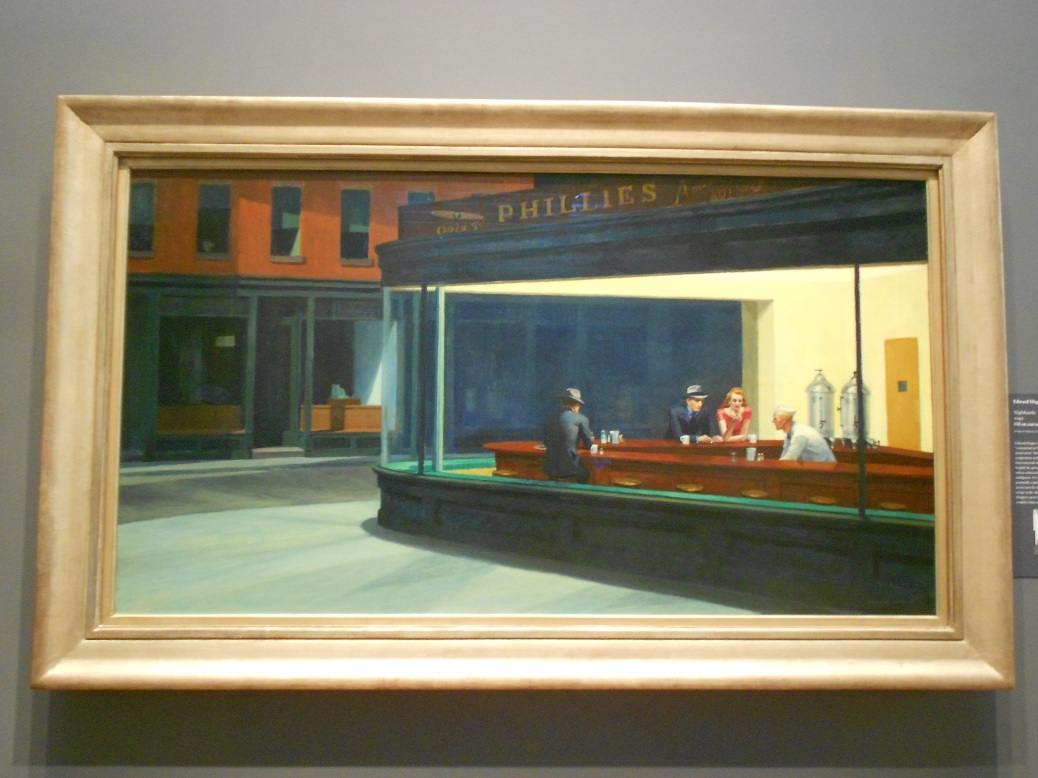 Nighthawks Edward Hopper Art Institute Chicago