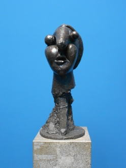 Picasso sculpture at the Stadel Museum