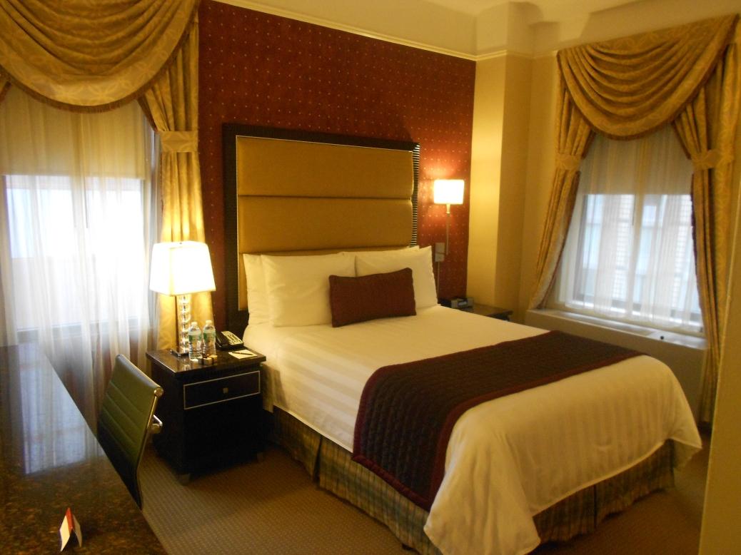 Bedroom at Hotel Metro New York City