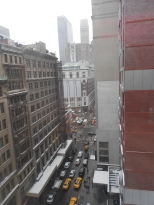 View from Hotel Metro New York City