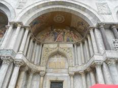 Doorway to St Mark's in Venice