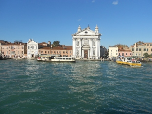 First view of Venice