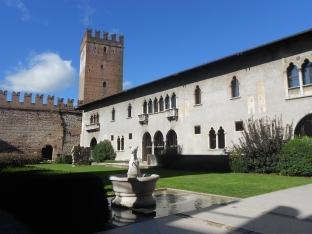 Inside Castelvecchio in Verona