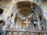 Inside St Mark's Basilica Venice