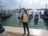Journalist Lisa Hughes in Venice