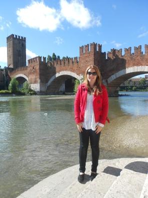 Lia Hughes at Castelvecchio Verona