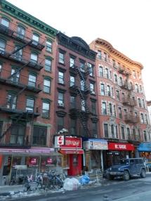 Lower East Side tenement buildings