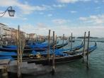 Postcard-perfect gondola shot Venice