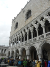 Queues at the Doge's Palace, Venice