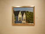Second Story Sunlight by Edward Hopper at the Whitney Museum New York