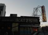 The famous Katz's Deli