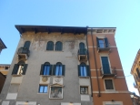 Traditional townhouses in Verona