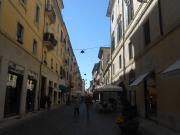 Shop 'til you drop along Via Mazzini