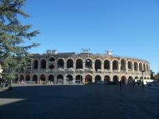 Verona arena, Roman amphitheatre in Piazza Bra