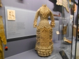 Wedding dress in the National Museum of the American Indian