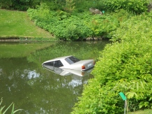 Car art installation Botanic Gardens Nantes