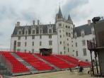 Chateau Des Ducs De Bretagne Castle of the Dukes of Brittany Nantes before a show