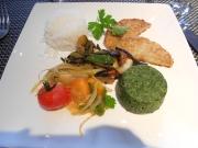 dinner at Song Saveurs et Sens Michelin restaurant Nantes