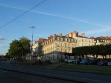 Nantes near sunset