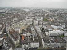View of Nantes from Le Nid